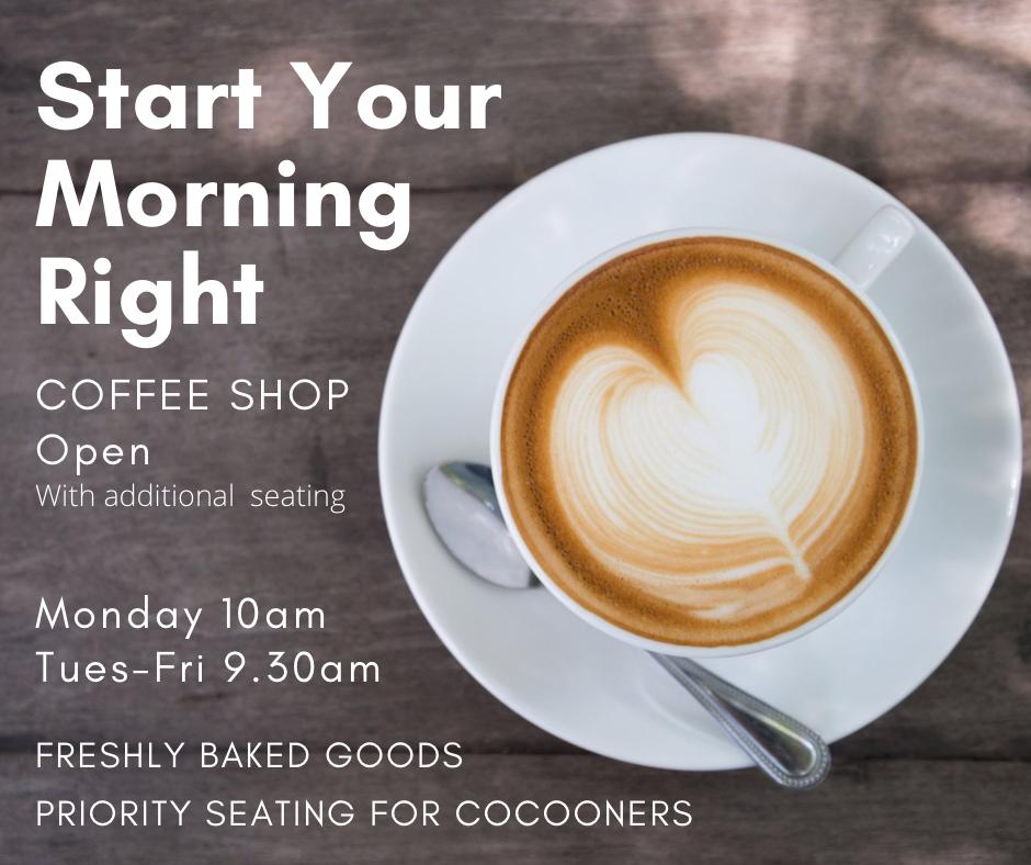 LYCC Coffee Shop info