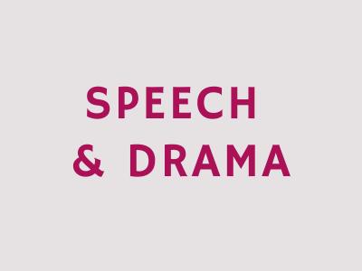 speechdrama